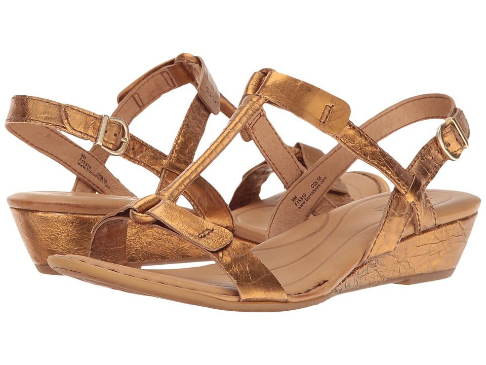 Born - Douala (Gold Metallic) Womens Dress Sandals