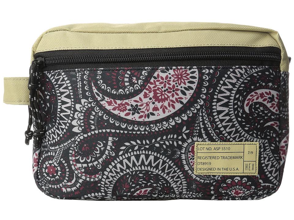 HEX - Dopp Kits (Aspect Natural/Paisley) Bags