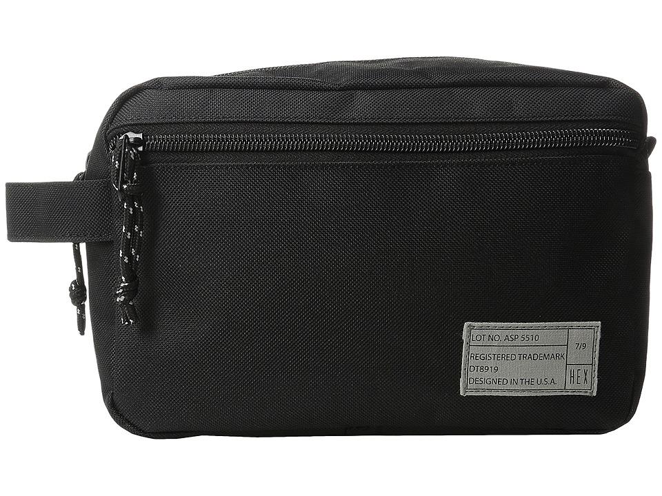 HEX - Dopp Kits (Aspect Black) Bags