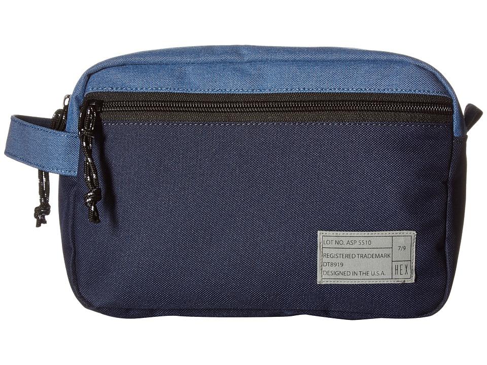 HEX - Dopp Kits (Aspect Blue/Navy) Bags