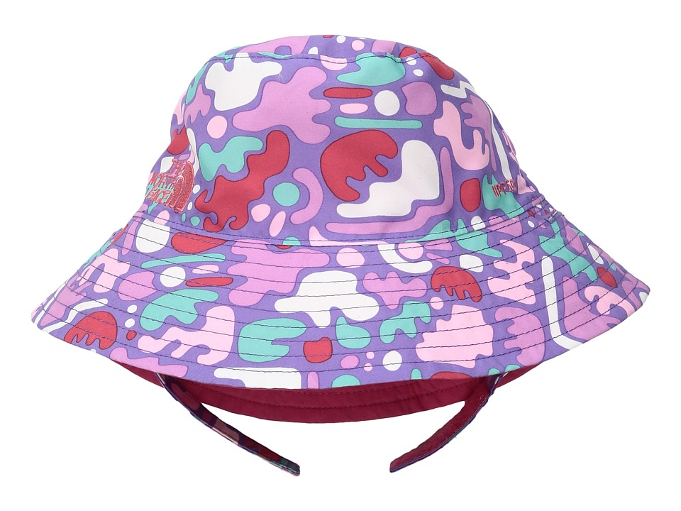 North Face Baby Sun Bucket 13 (Infant) (Paisley Purple De...