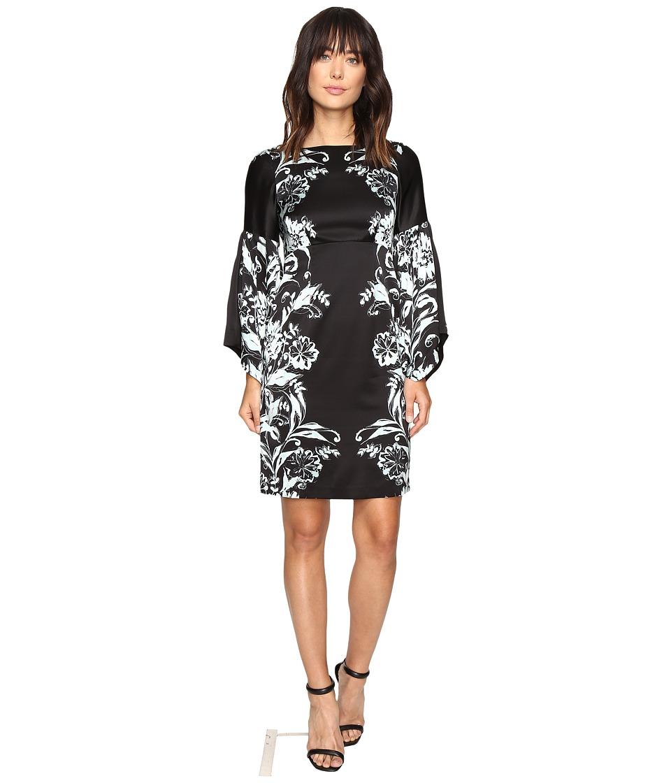 Nanette Lepore Midnight Martini Dress (Black/Blue) Women