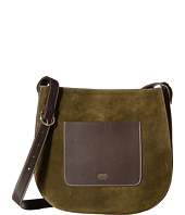 Frances Valentine - Large Ellen Suede Shoulder Satchel
