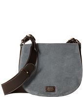 Frances Valentine - Small Ellen Suede Shoulder Satchel