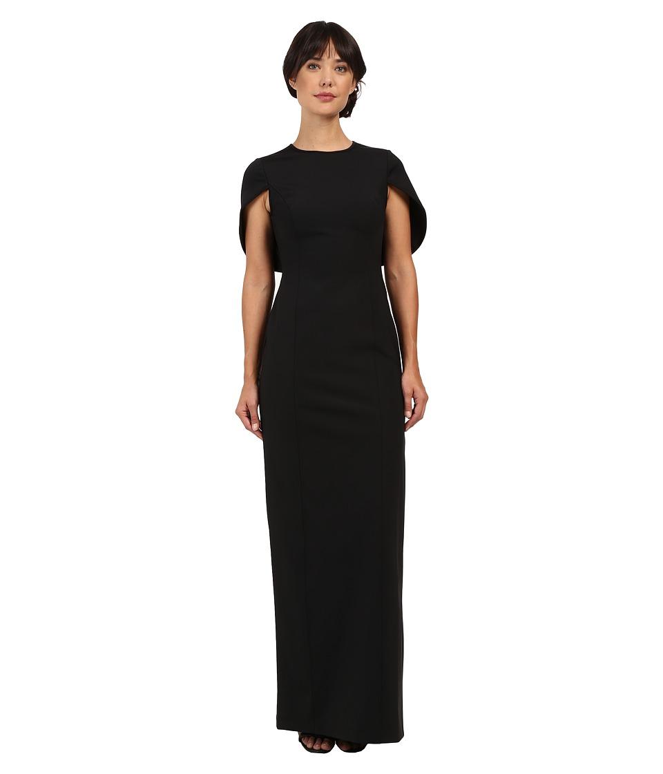 Adrianna Papell - Cape Scuba Column Gown