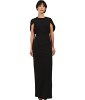 Adrianna Papell - Cape Scuba Column Gown