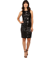 Adrianna Papell - Sleeveless Cable Sequin Dress