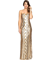 Adrianna Papell - Strapless Cable Sequin Gown