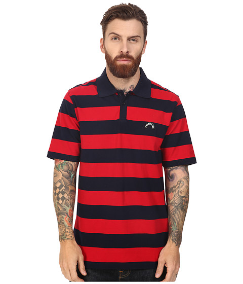 Primitive Arch Stripe Polo Tee