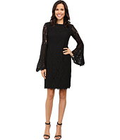 NUE by Shani - Sheath Dress with Bell Sleeves