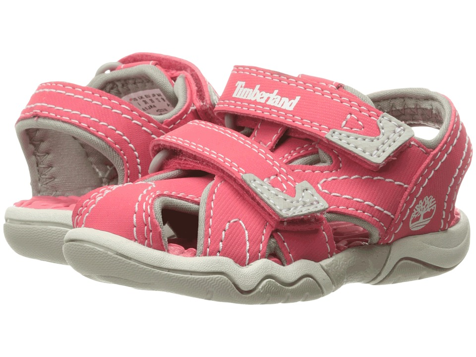 Timberland Kids Adventure Seeker Closed Toe Sandal (Toddler/Little Kid) (Geranium) Girl's Shoes