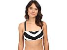 LAUREN Ralph Lauren - Chevron X-Back OTS Bikini Top