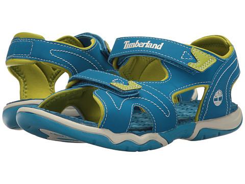Timberland Kids Adventure Seeker 2 Strap Sandal (Big Kid) - Mykonos Blue