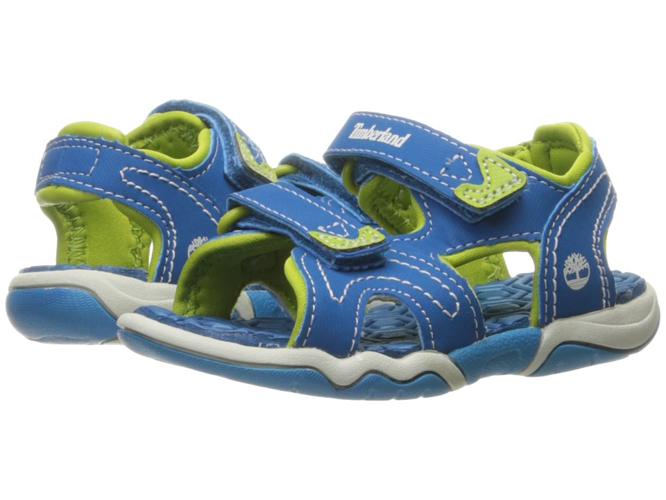 Timberland Kids Adventure Seeker 2 Strap Sandal (Toddler/Little Kid) (Mykonos Blue) Kids Shoes