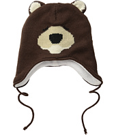San Diego Hat Company Kids - Fleece Lined Bear Beanie with Ear Covers and Tie (Toddler/Little Kids)