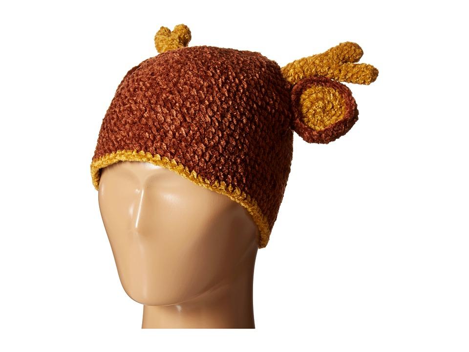 San Diego Hat Company Kids - Crochet Deer Beanie (Infant/...
