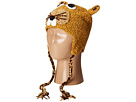 San Diego Hat Company Kids - Crochet Squirrel with Ear Covers and Ties (Toddler/Little Kids)