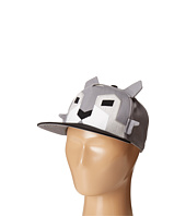 San Diego Hat Company Kids - Flat Bill Adjustabel Cap Hat with Geometric Shaped Animal and Ears (Little Kids/Big Kids)