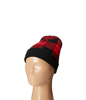 San Diego Hat Company Kids - Cuffed Machine Knit Plaid Beanie (Little Kids/Big Kids)