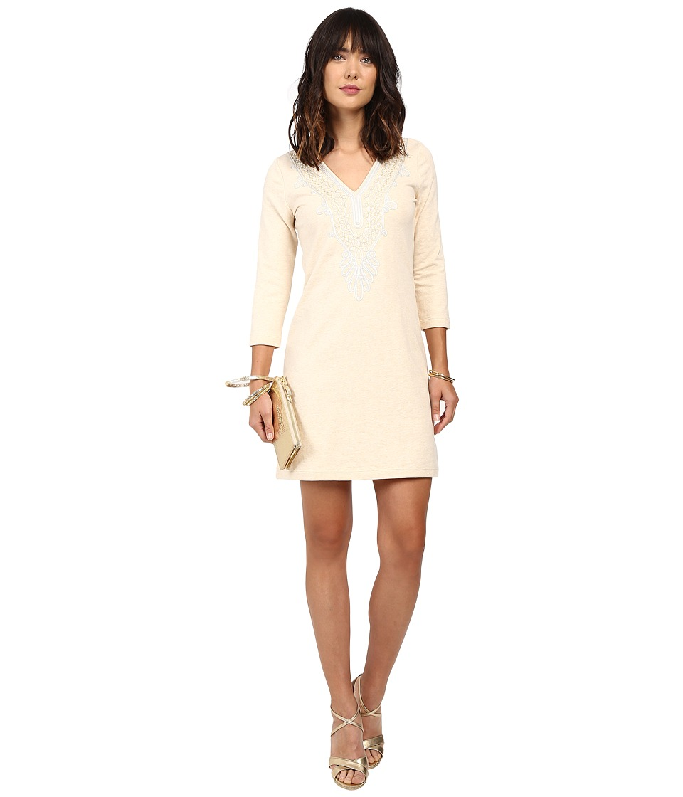 Lilly Pulitzer Clarkson Dress (Heathered Camel) Women
