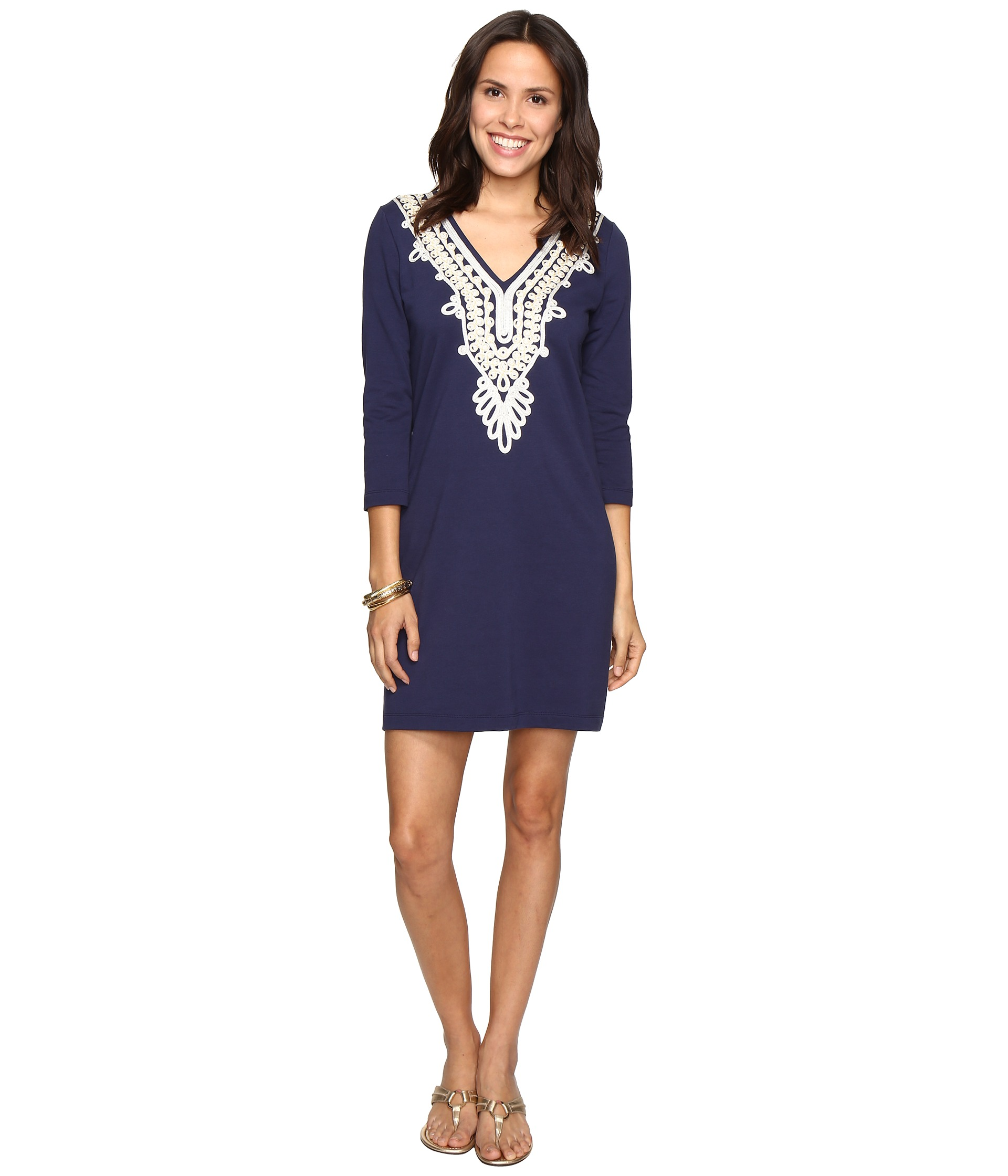 Lilly pulitzer cocoa dress beaded lace