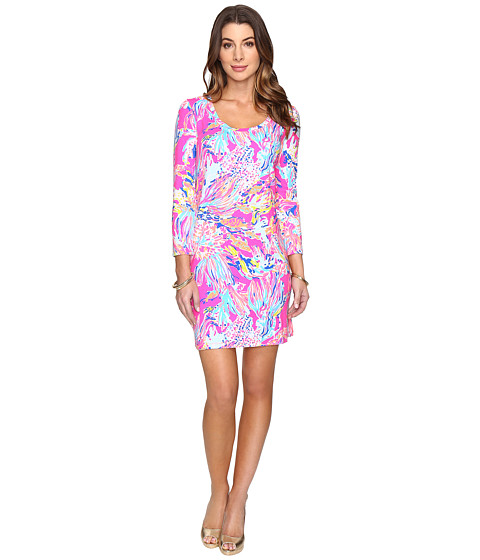 Lilly Pulitzer Devon Dress - Tiki Pink Sunken Treasure