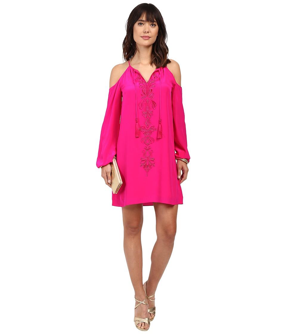 Lilly Pulitzer Fulton Tunic Dress (Magenta) Women