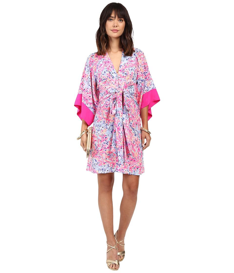 Lilly Pulitzer Kimora Dress (Multi Coco Coral Crab) Women