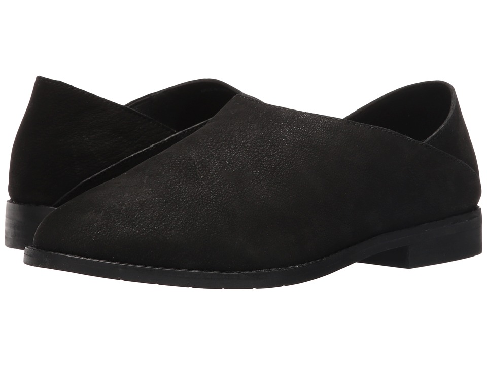 Eileen Fisher Depan (Black Tumbled Nubuck) Women