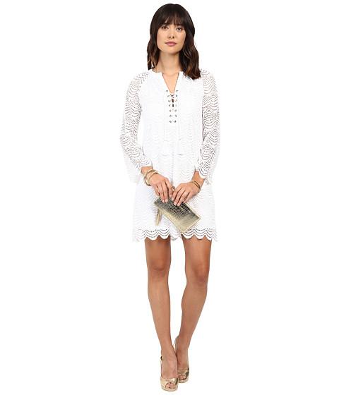 Lilly Pulitzer - Sea Isle Dress (Resort White Scalloped Shell) Women's Dress
