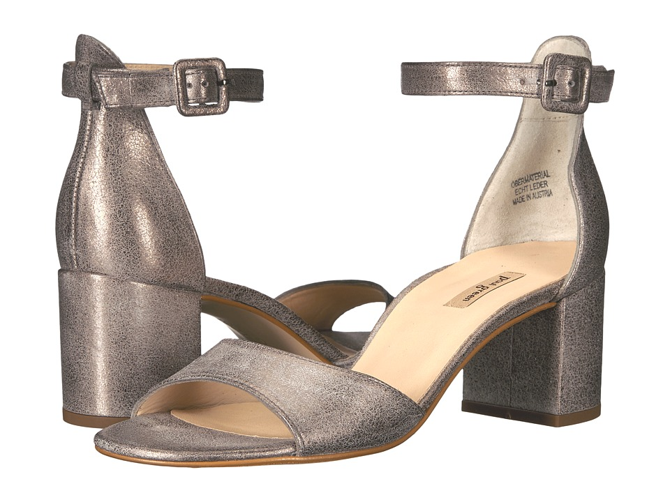 Paul Green Lonnie Heel (Smoke Metallic) High Heels