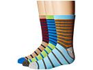 Jefferies Socks - Stripe Crew Socks 3-Pair Pack (Toddler/Little Kid/Big Kid)