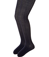Jefferies Socks - Cable Tights 2-Pack (Toddler/Little Kid/Big Kid)