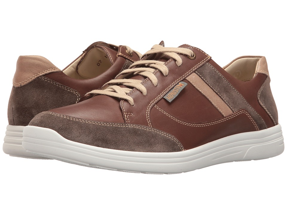 Mephisto Frank (Chestnut/Camel Polo) Men