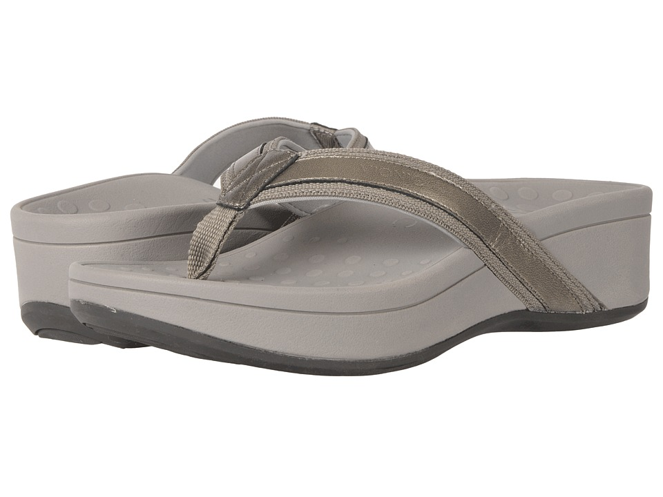 VIONIC High Tide (Pewter Sheep Nappa) Sandals