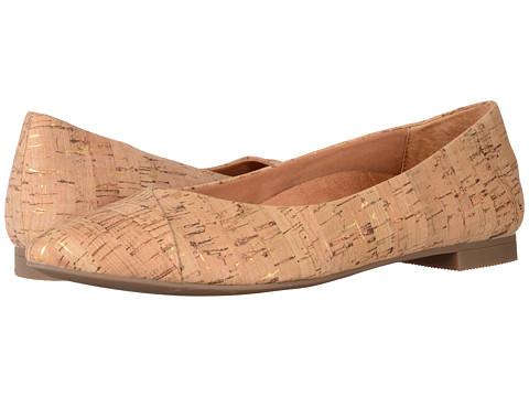 VIONIC Gem Caballo Ballet Flat - Gold Cork