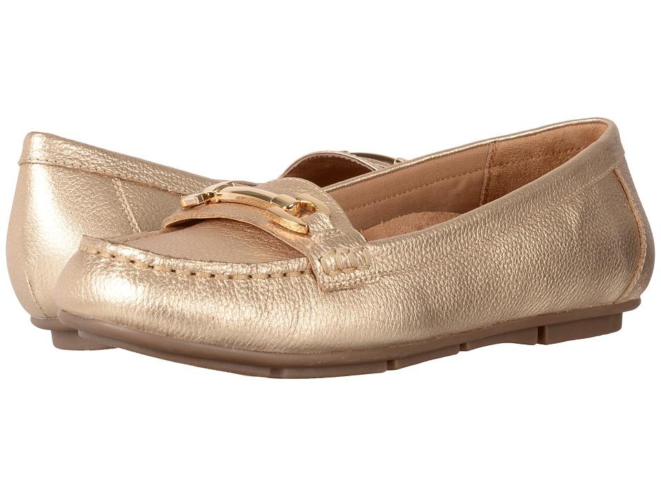 VIONIC Kenya (Gold Tumbled Leather) Women