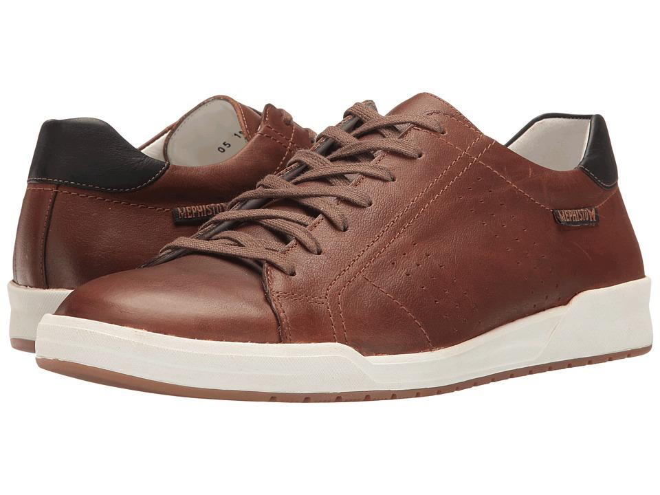 Mephisto - Rufo (Hazelnut/Navy Brooklyn) Mens Shoes