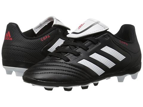adidas Kids Copa 17.4 FxG Soccer (Little Kid/Bid Kid) - Core Black/Footwear White