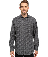 BUGATCHI - Brizio Long Sleeve Woven Shirt
