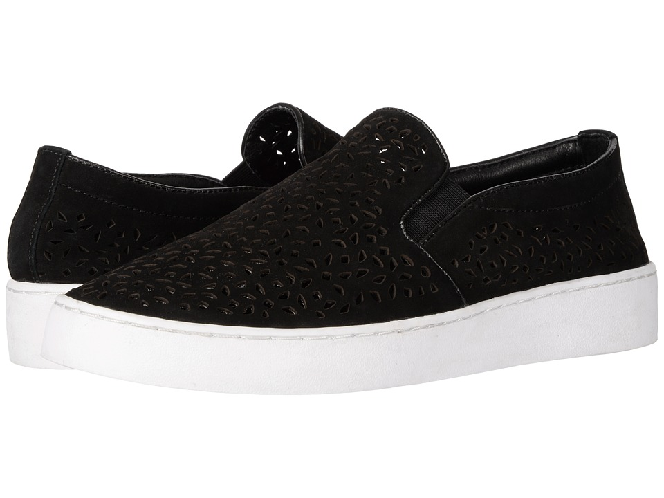 VIONIC Midi Perf (Black Perfed Nubuck) Slip-On Shoes