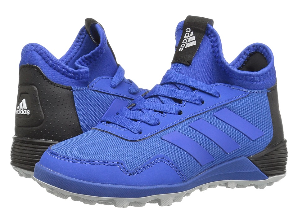 adidas Kids Ace Tango 17.2 TF Soccer (Little Kid/Bid Kid) (Blue/Core Black) Kids Shoes