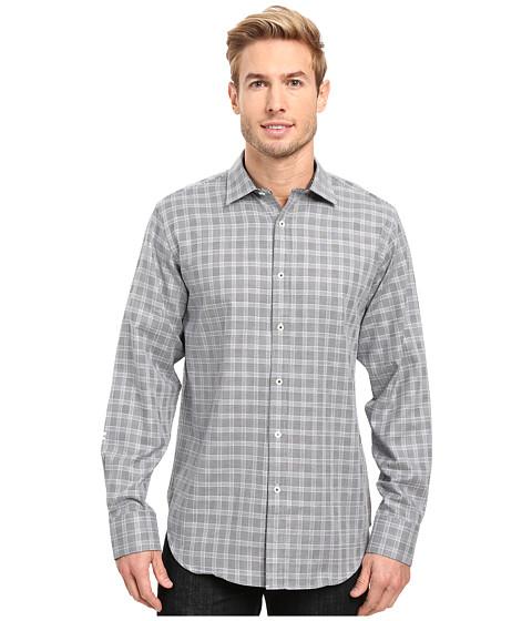 BUGATCHI Fredrico Long Sleeve Woven Shirt - Midnight