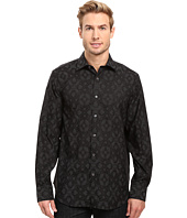 BUGATCHI - Elba Long Sleeve Woven Shirt