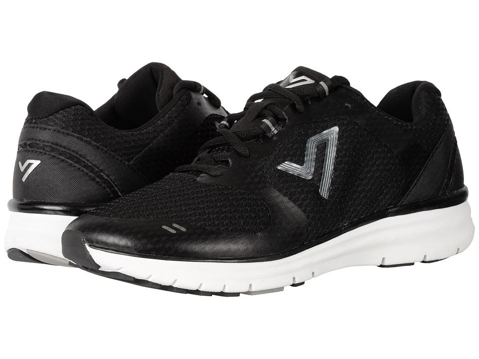 Vionic Ngage 1 (Black Open Mesh/Black) Men's Walking Shoes