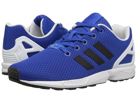 adidas Originals Kids ZX Flux (Big Kid) - Blue/Core Black/Footwear White
