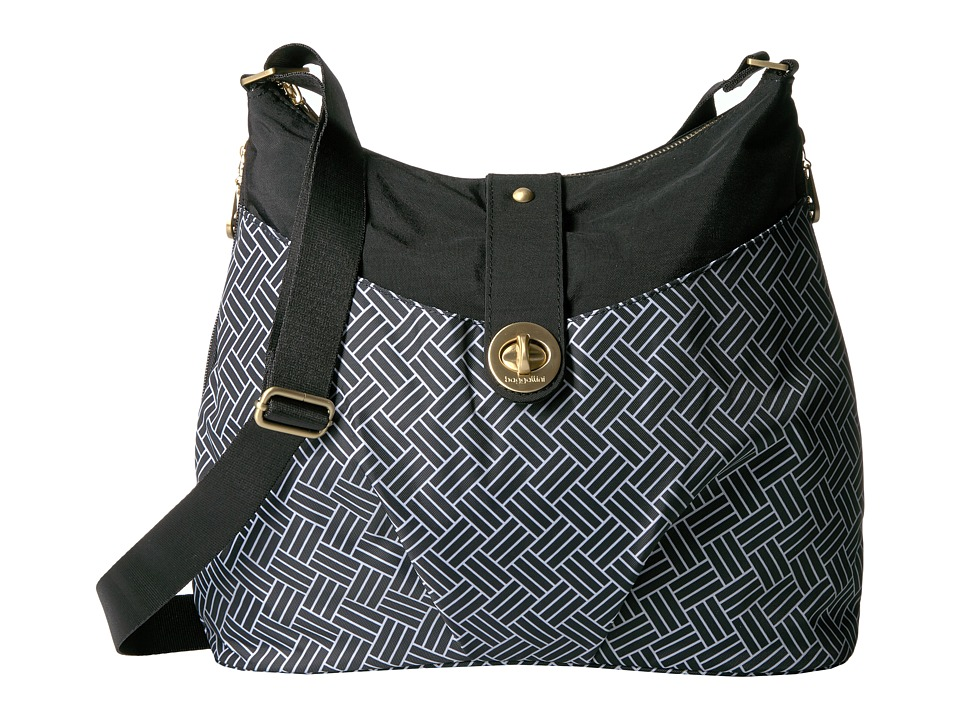 Baggallini Helsinki Bagg (Basket Weave) Cross Body Handbags