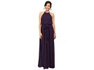 Donna Morgan Alana Drape Blouson Gown (Amethyst)