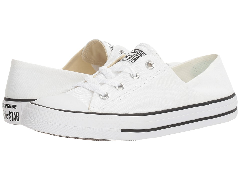 Converse Chuck Taylor All Star Coral Ox (White/Black/White) Women