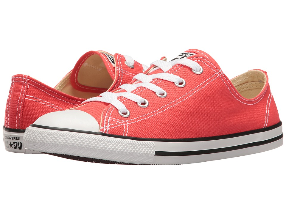 Converse Chuck Taylor All Star Dainty Seasonal Ox (Ultra Red/Black/White) Women